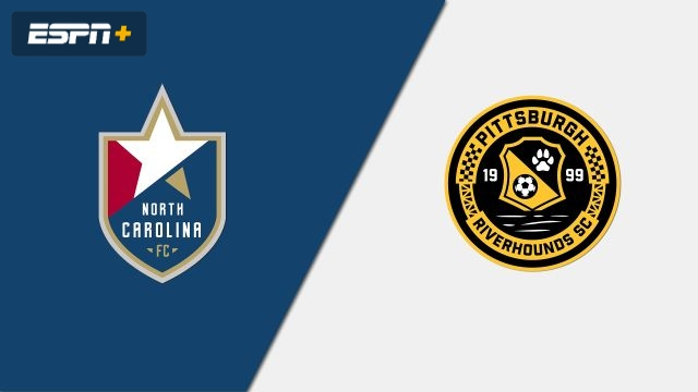 North Carolina FC vs. Pittsburgh Riverhounds SC (USL Championship)