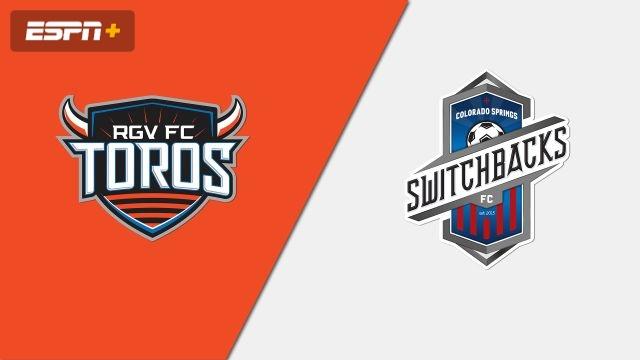 Rio Grande Valley FC Toros vs. Colorado Springs Switchbacks FC (USL Championship)