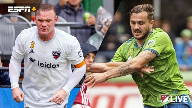 D.C. United vs. Seattle Sounders FC (MLS)