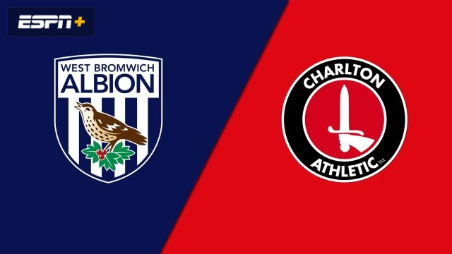West Bromwich Albion vs. Charlton Athletic (English League Championship)