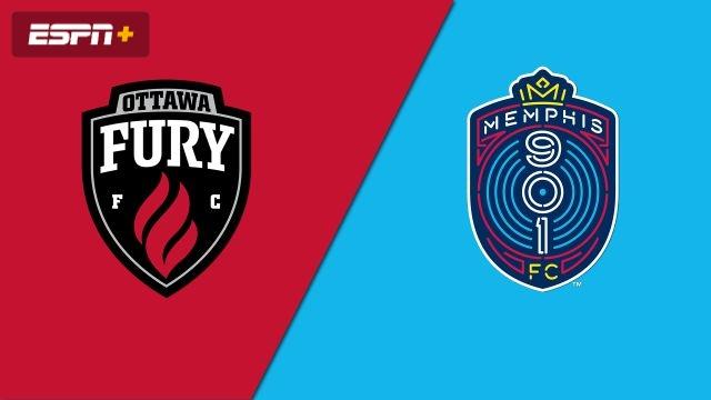 Ottawa Fury FC vs. Memphis 901 FC (USL Championship)