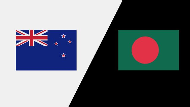 New Zealand vs. Bangladesh (2nd Test - Day 5)