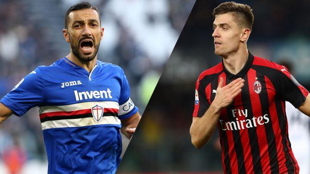 Sampdoria vs. AC Milan (Serie A)