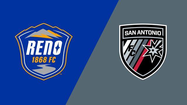 Reno 1868 FC vs. San Antonio FC