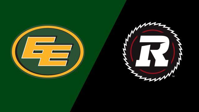 Edmonton Eskimos vs. Ottawa Redblacks