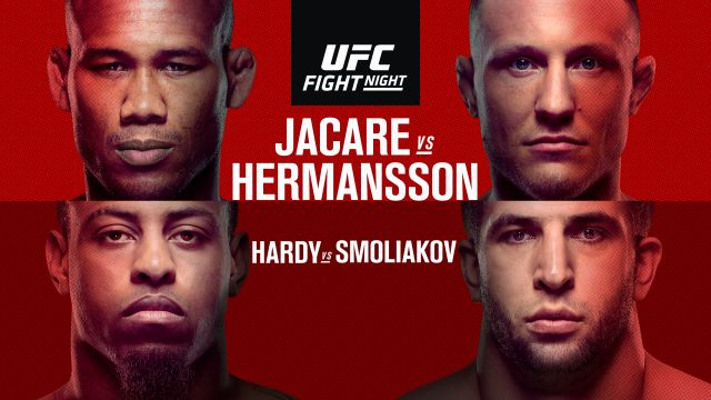 UFC Fight Night: Jacare vs. Hermansson (Main Card)