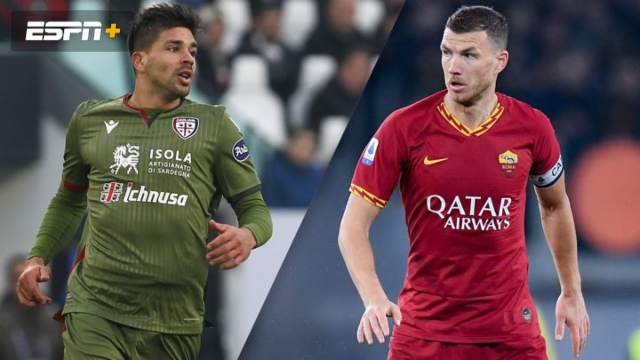 In Spanish-Cagliari vs. AS Roma (Serie A)