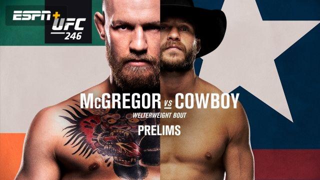 UFC 246: McGregor vs. Cowboy presented by Modelo (Prelims)