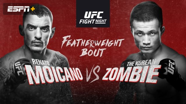 UFC Fight Night: Moicano vs. The Korean Zombie (Main Card)