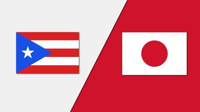 Puerto Rico vs. Japan (Group Phase)