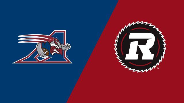 Alouettes vs  Ottawa Redblacks