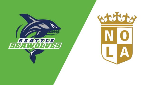 Seattle Seawolves vs Nola Gold (Major League Rugby)