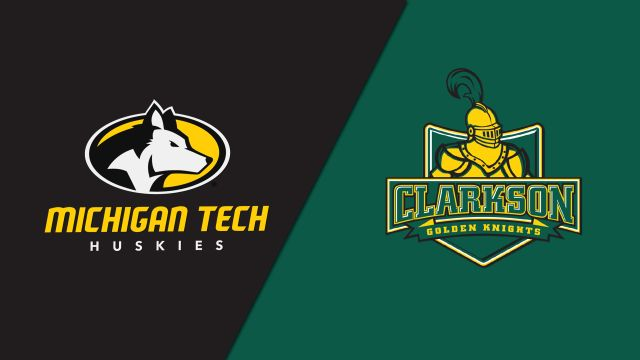 Michigan Tech vs. Clarkson (M Hockey)
