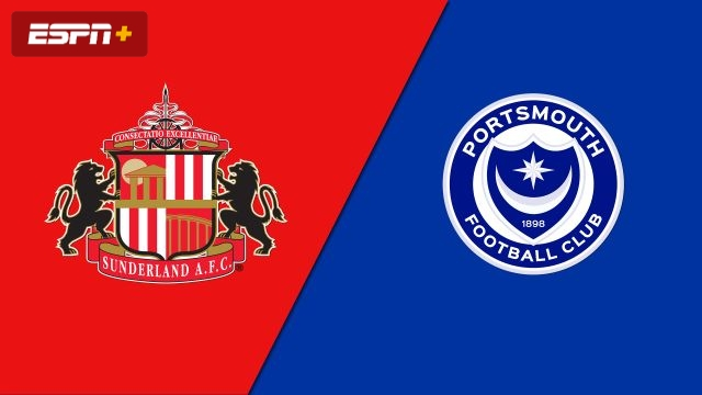 Sunderland vs. Portsmouth (English League One)