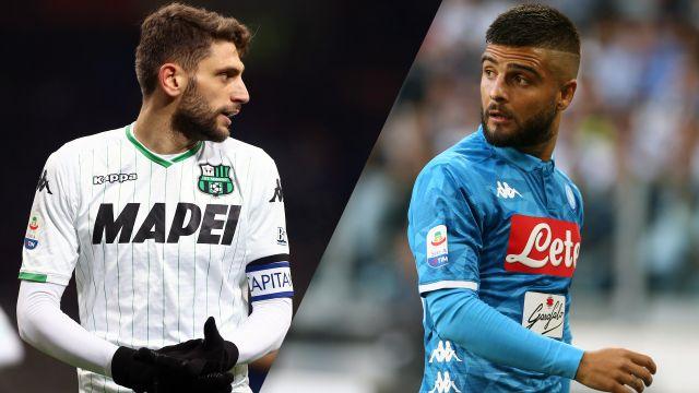 Sassuolo vs. Napoli (Serie A)