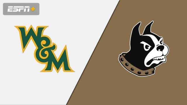 William & Mary vs. Wofford (M Basketball)