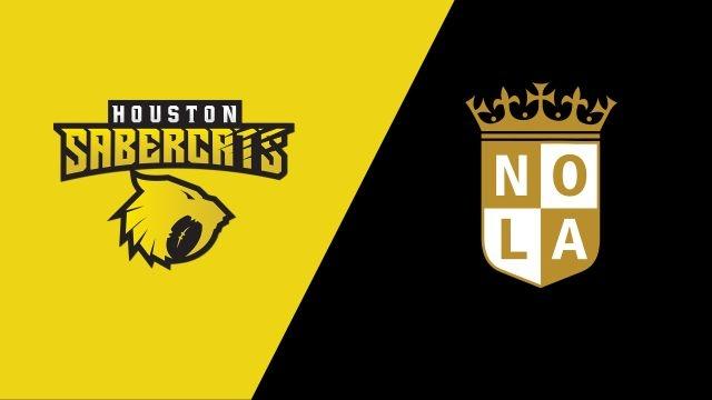 Houston SaberCats vs. NOLA Gold (Major League Rugby)