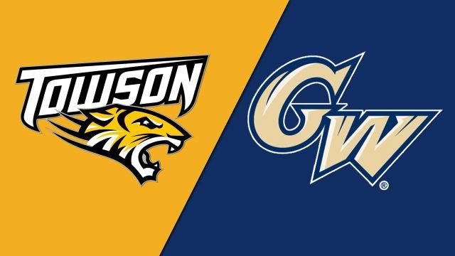 Towson vs. George Washington (W Basketball)