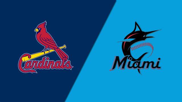 St. Louis Cardinals vs. Miami Marlins