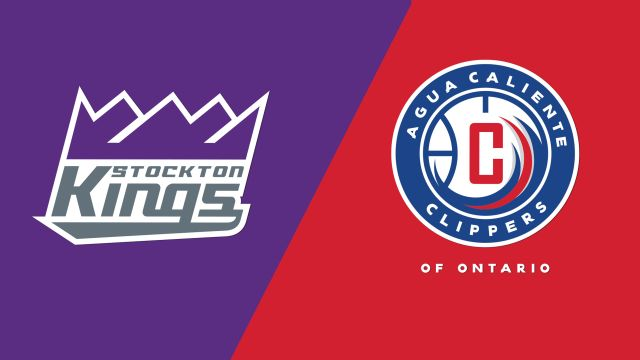Stockton Kings vs. Agua Caliente Clippers