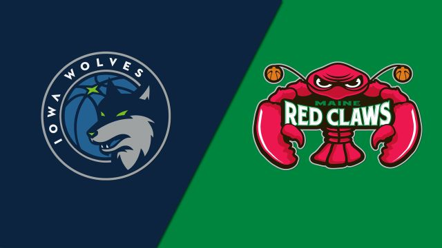 Iowa Wolves vs. Maine Red Claws