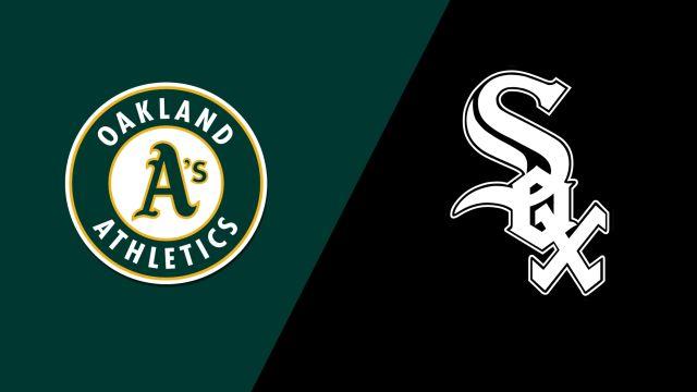 Oakland Athletics vs. Chicago White Sox