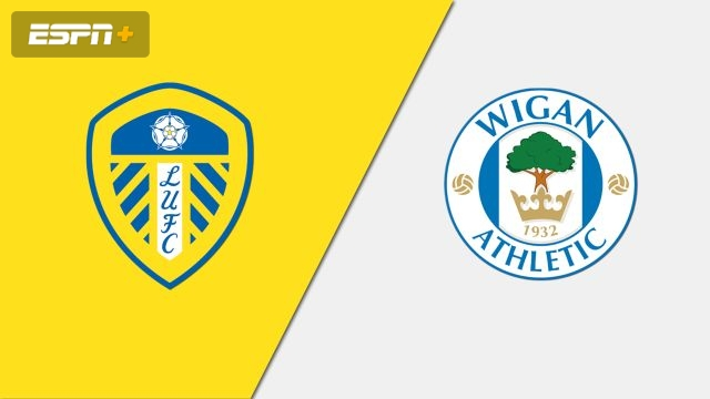 Leeds United vs. Wigan Athletic (English League Championship)
