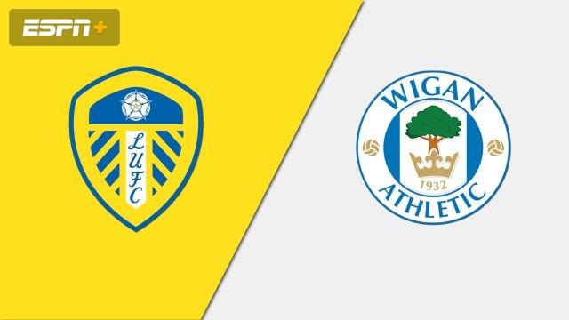 Leeds United vs. Wigan Athletic (English League Championship)