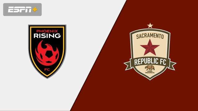 Phoenix Rising FC vs. Sacramento Republic FC (USL Championship)