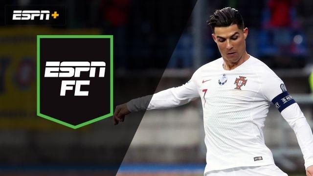 Sun, 11/17 - ESPN FC: Ronaldo aims for new milestone