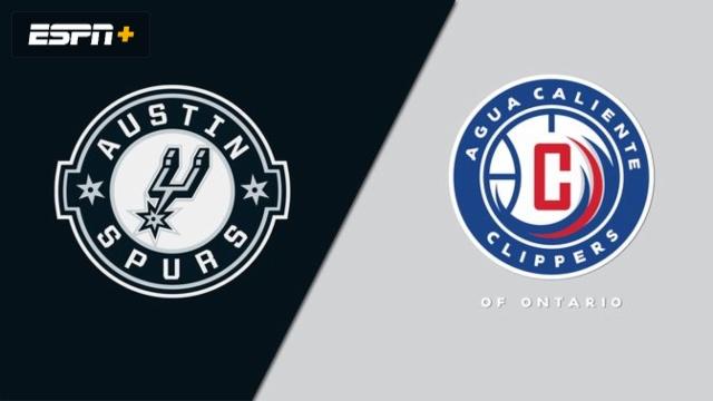 Austin Spurs vs. Agua Caliente Clippers