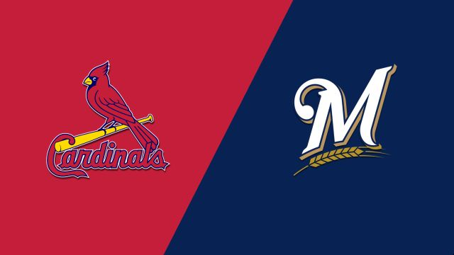 St. Louis Cardinals vs. Milwaukee Brewers