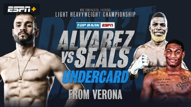 Alvarez vs. Seals (Undercards)