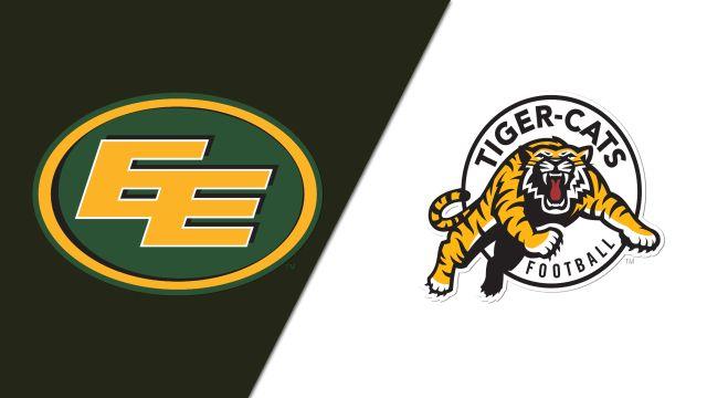 Edmonton Eskimos vs. Hamilton Tiger-Cats