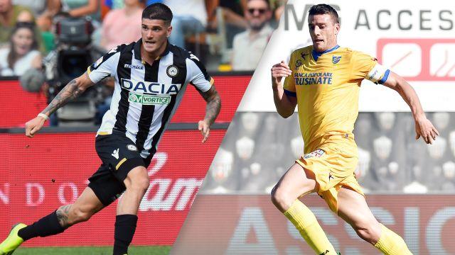Udinese vs. Frosinone