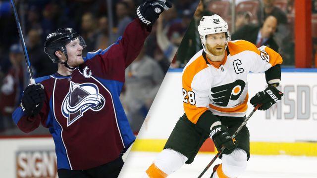 Colorado Avalanche vs. Philadelphia Flyers