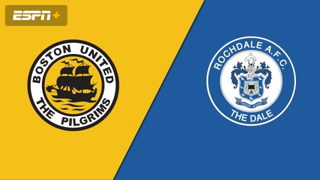 Boston United vs. Rochdale (2nd Round Replay) (FA Cup)