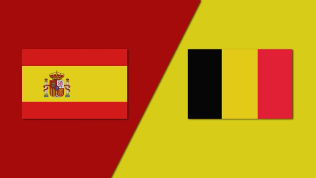 Spain vs. Belgium (Group Phase)