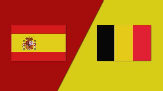 Spain vs. Belgium (Group Phase)