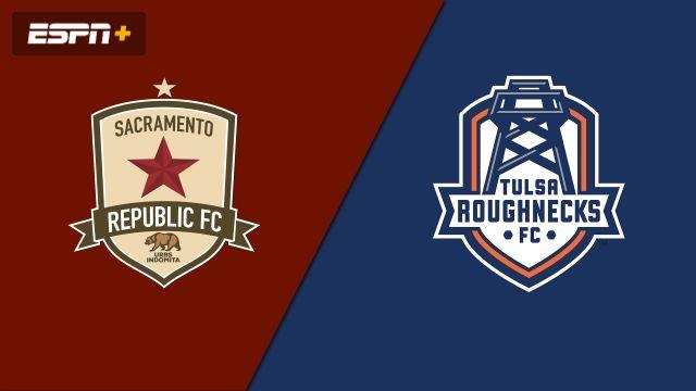 Sacramento Republic FC vs. Tulsa Roughnecks FC (USL Championship)