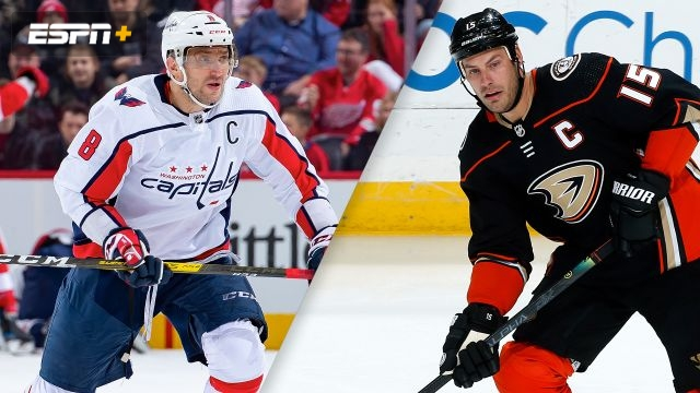 Washington Capitals vs. Anaheim Ducks
