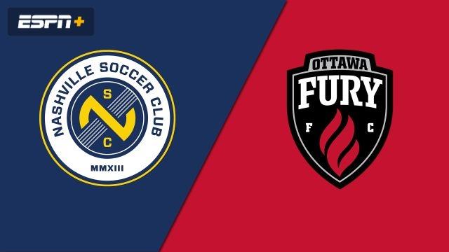 Nashville SC vs. Ottawa Fury FC (USL Championship)