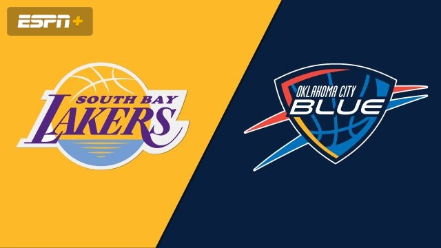 South Bay Lakers vs. Oklahoma City Blue
