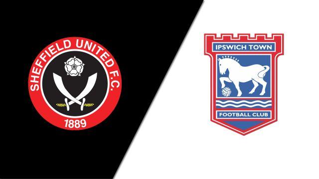 Sheffield United vs. Ipswich Town (English League Championship)