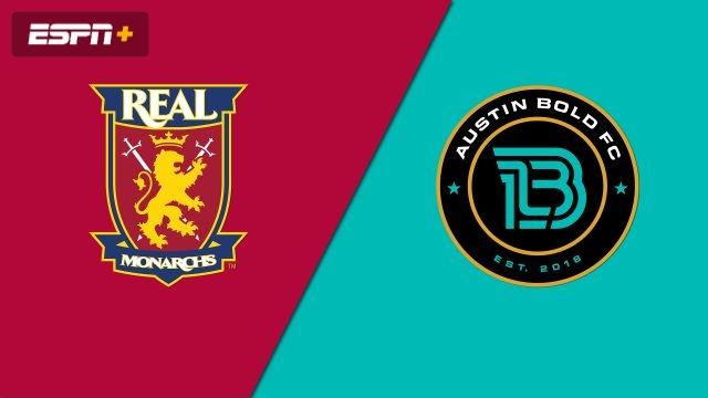 Real Monarchs SLC vs. Austin Bold FC (USL Championship)