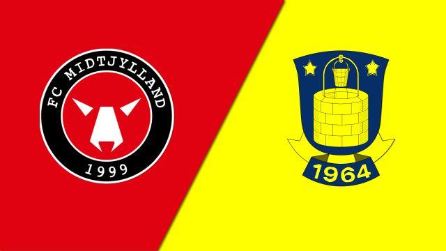 FC Midtylland vs. Brondby IF (Danish Superliga)