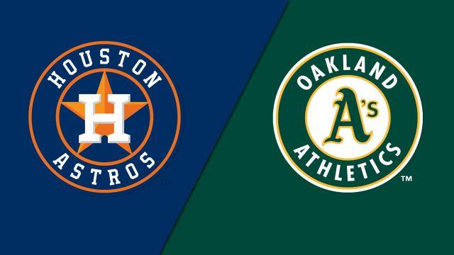 Houston Astros vs. Oakland Athletics