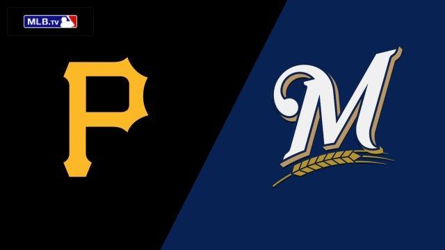 Pittsburgh Pirates vs. Milwaukee Brewers