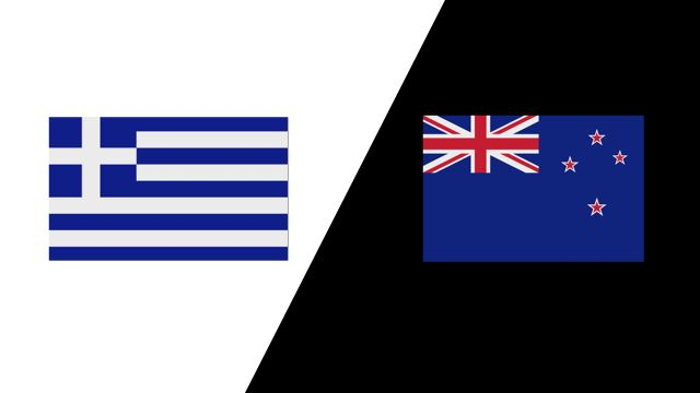 Greece vs. New Zealand (2018 FIL World Lacrosse Championships)
