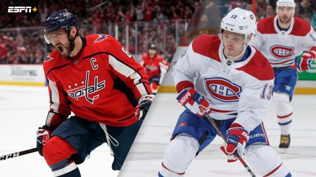 Washington Capitals vs. Montreal Canadiens